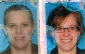 bald driver's license