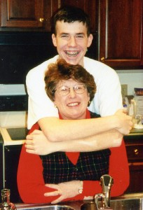 Drew Lawrence and Mom