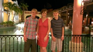 Taken in Cancun during our favorite word: Remission.